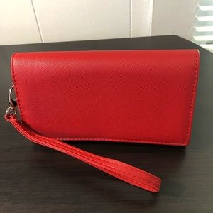 NWT Red Crossbody / Clutch / Wristlet